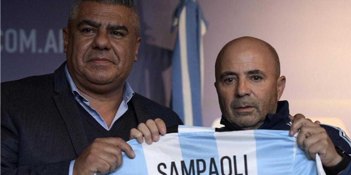 Jorge Sampaoli toma el mando de la Selección de Argentina