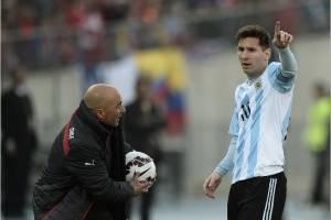 Jorge Sampaoli, nuevo técnico de Argentina.