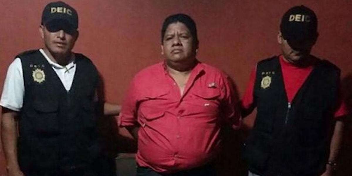Capturan a alcalde de San Pedro Nécta por abuso de autoridad
