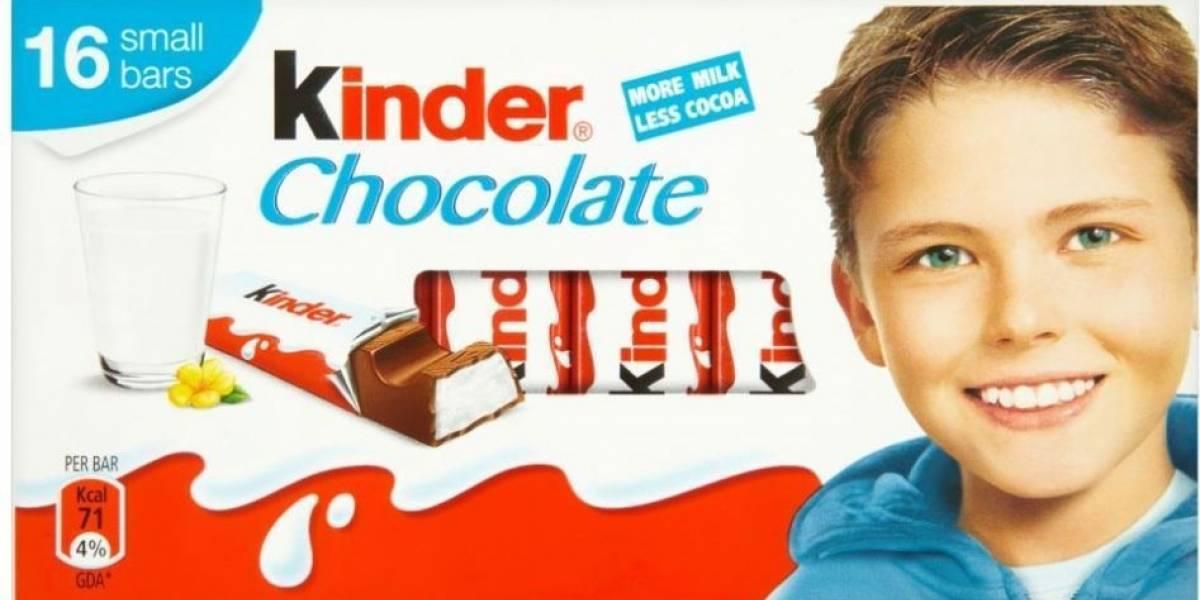 El niño del chocolate Kinder creció y ahora luce muy atractivo