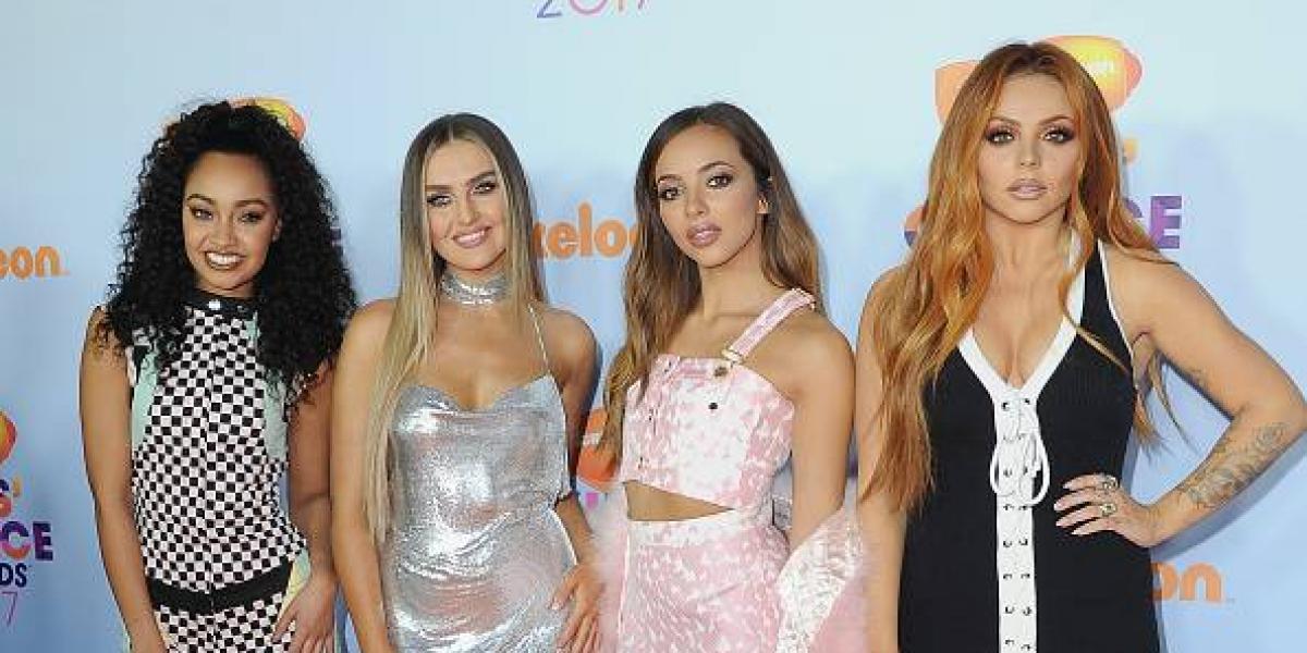 """Critican a integrante de Little Mix por una foto con """"notorio retoque"""""""