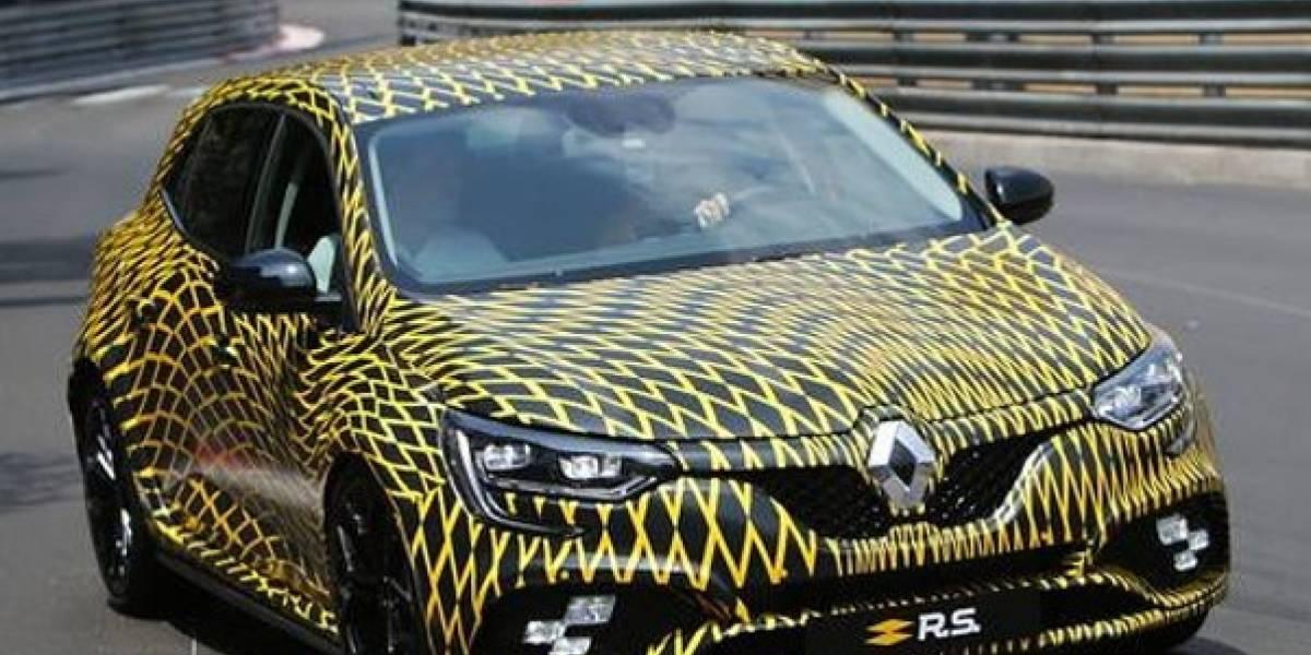 El nuevo Renault Mégane R.S. 2018 apareció por Mónaco