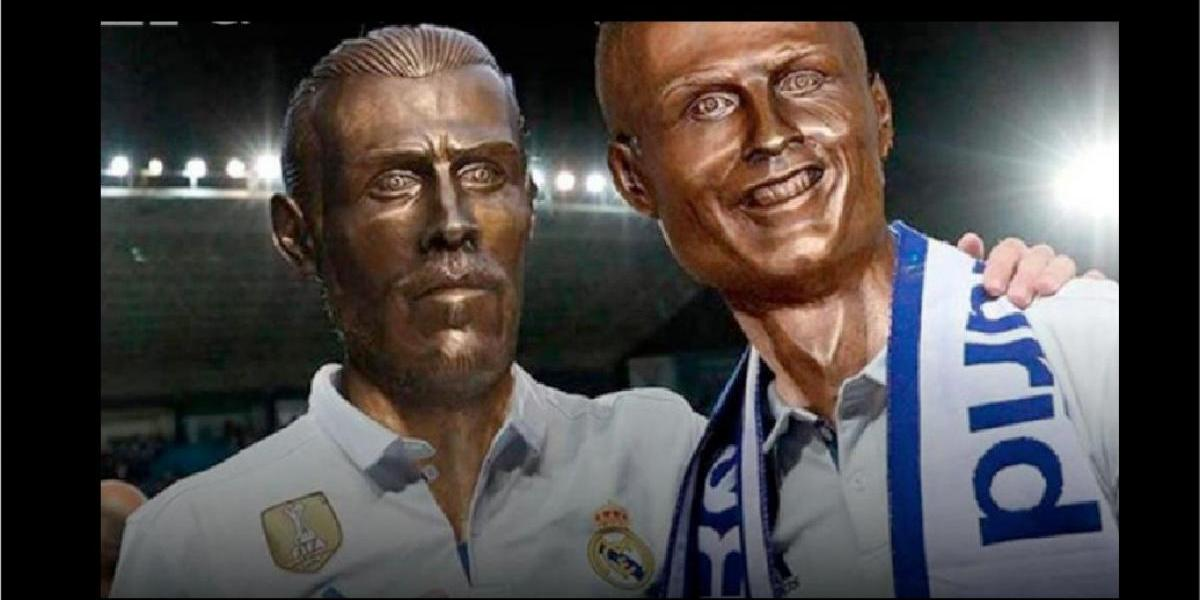 El polémico busto de Gareth Bale desata una fuerte ola de memes