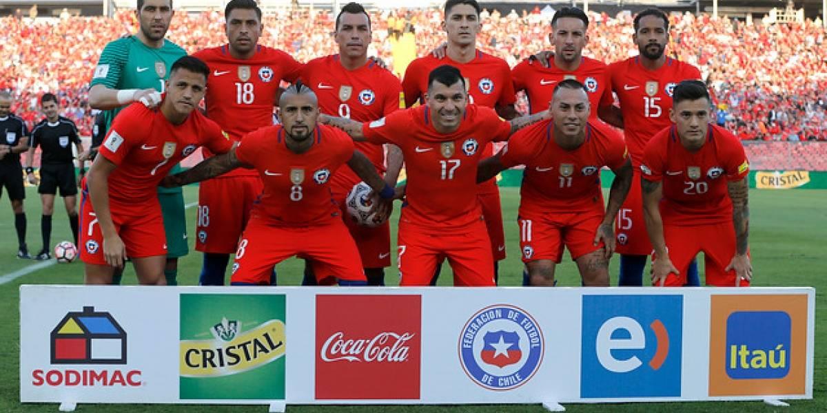 Ranking FIFA: Chile irá como la cuarta mejor selección del mundo a la Copa Confederaciones