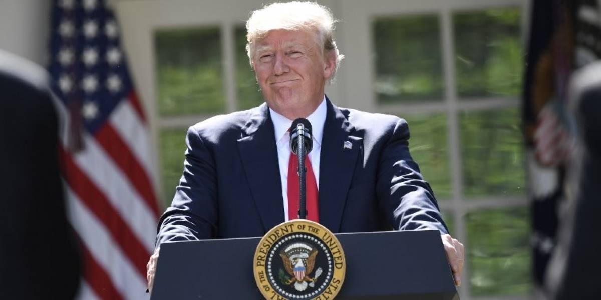 Republicanos aclaman a Trump por decisión sobre el Acuerdo de París