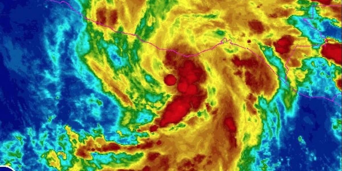 Se forma la tormenta Beatriz en el Pacífico