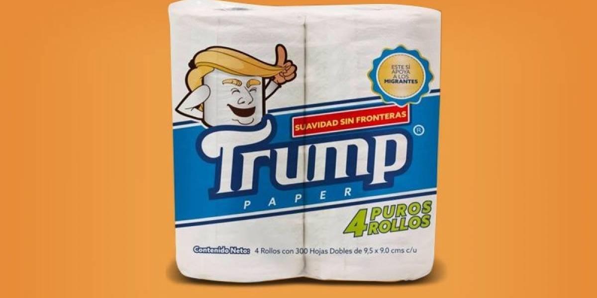"""""""Suavidad sin fronteras"""": Papel higiénico marca Trump saldrá a la venta en México"""