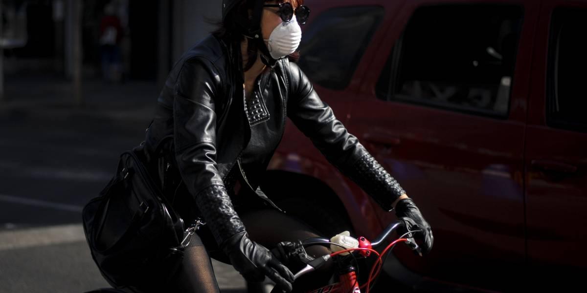 ¿Cómo te afecta la contaminación al usar la bicicleta?