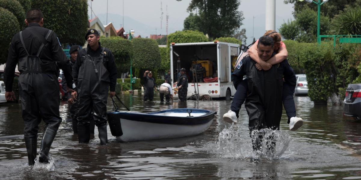 Hasta 95% de viviendas del país, en desamparo ante las inundaciones
