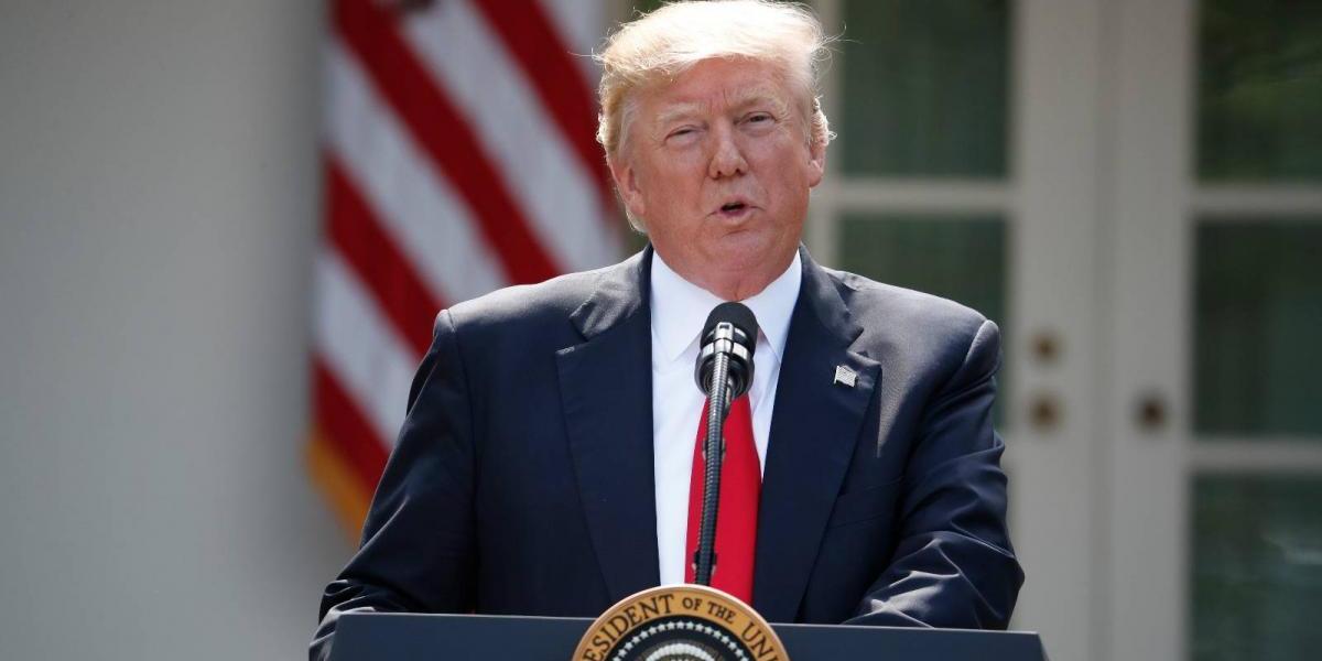 Trump oficializa salida de EU del Acuerdo de París contra el cambio climático