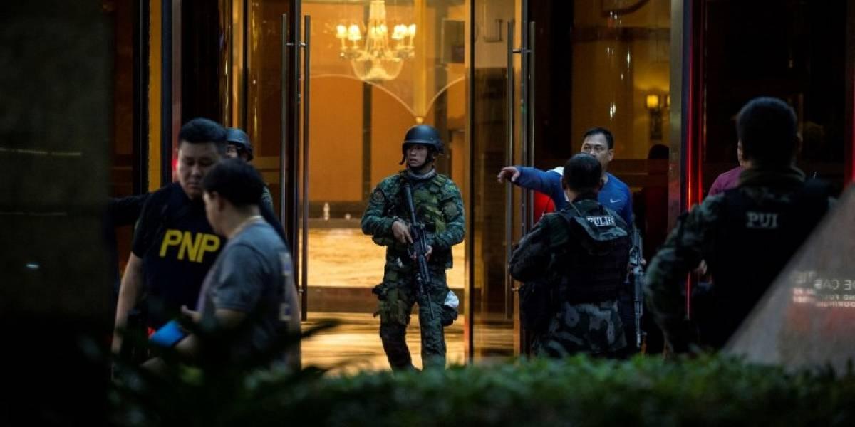 Encuentran al menos 36 muertos tras ataque en hotel de Filipinas: autoridades descartan terrorismo