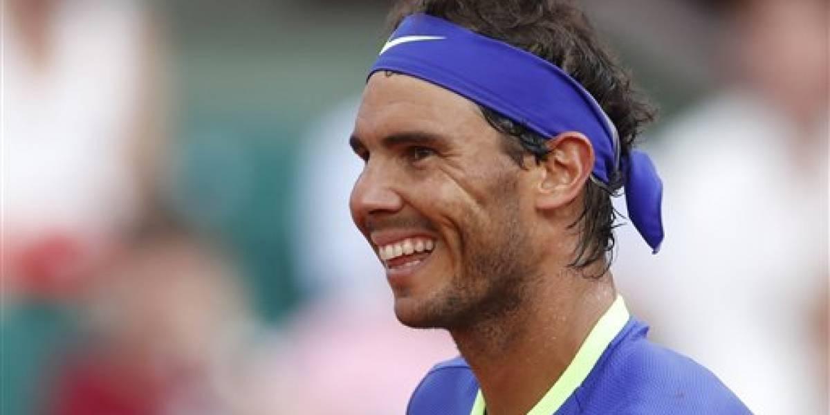 Rafael Nadal avanza en Roland Garros