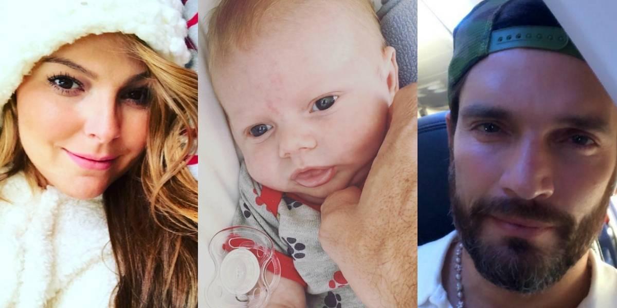 Bebé de Julián Gil y Marjorie de Sousa tuvo que ser atendido de emergencia