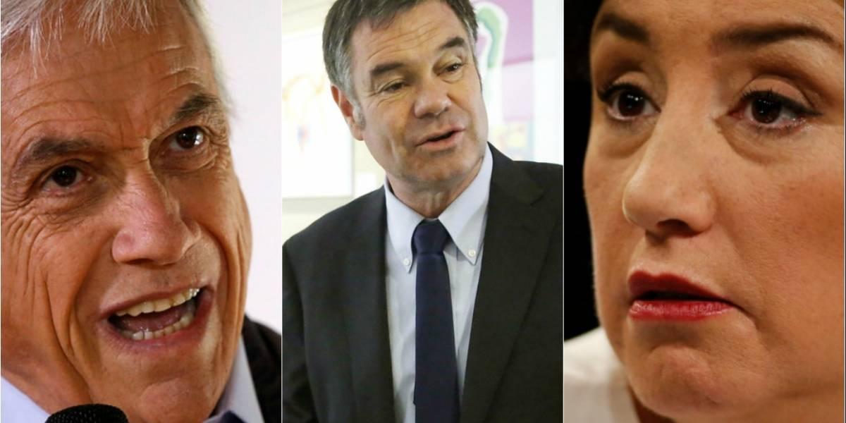 Encuesta CEP: Ossandón y Beatriz Sánchez registran alzas y Piñera sigue liderando la carrera presidencial