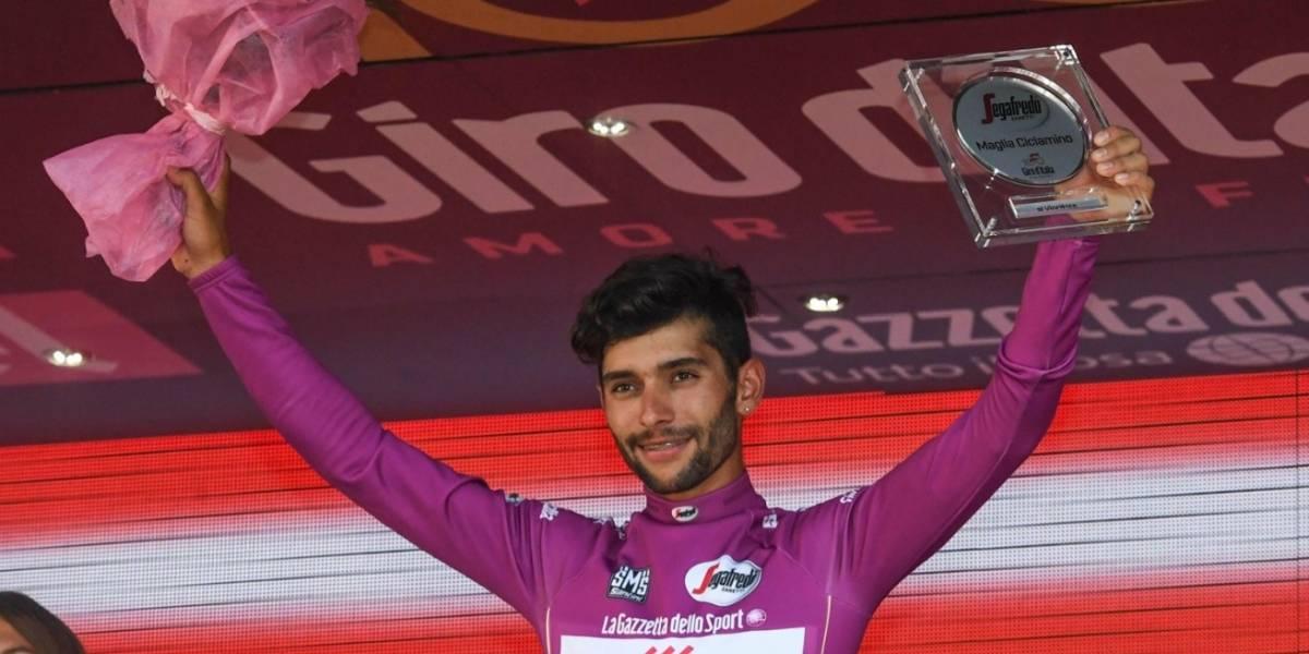 ¡A todo señor, todo honor! El regalo que recibió Gaviria por ganar la camiseta morada en el Giro 2017