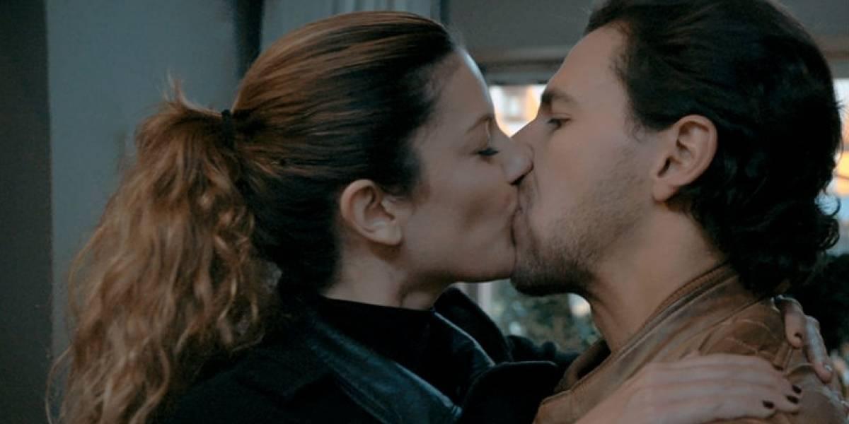 La primera foto del amor entre Iván López y Mabel Moreno
