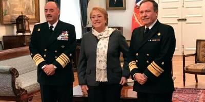 Presidenta Bachelet designa a nuevo comandante en jefe de la Armada