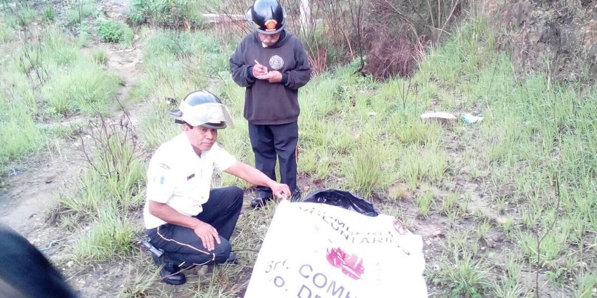 Localizan cuerpo desmembrado y una nota de amenaza en Mixco