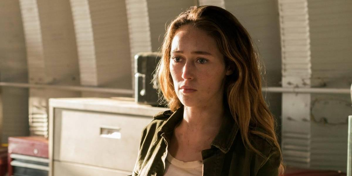 """Fear the Walking Dead"": Alycia Debnam y Sam Underwood quieren salvar el mundo"