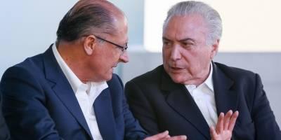 Temer se reúne com Alckmin em SP