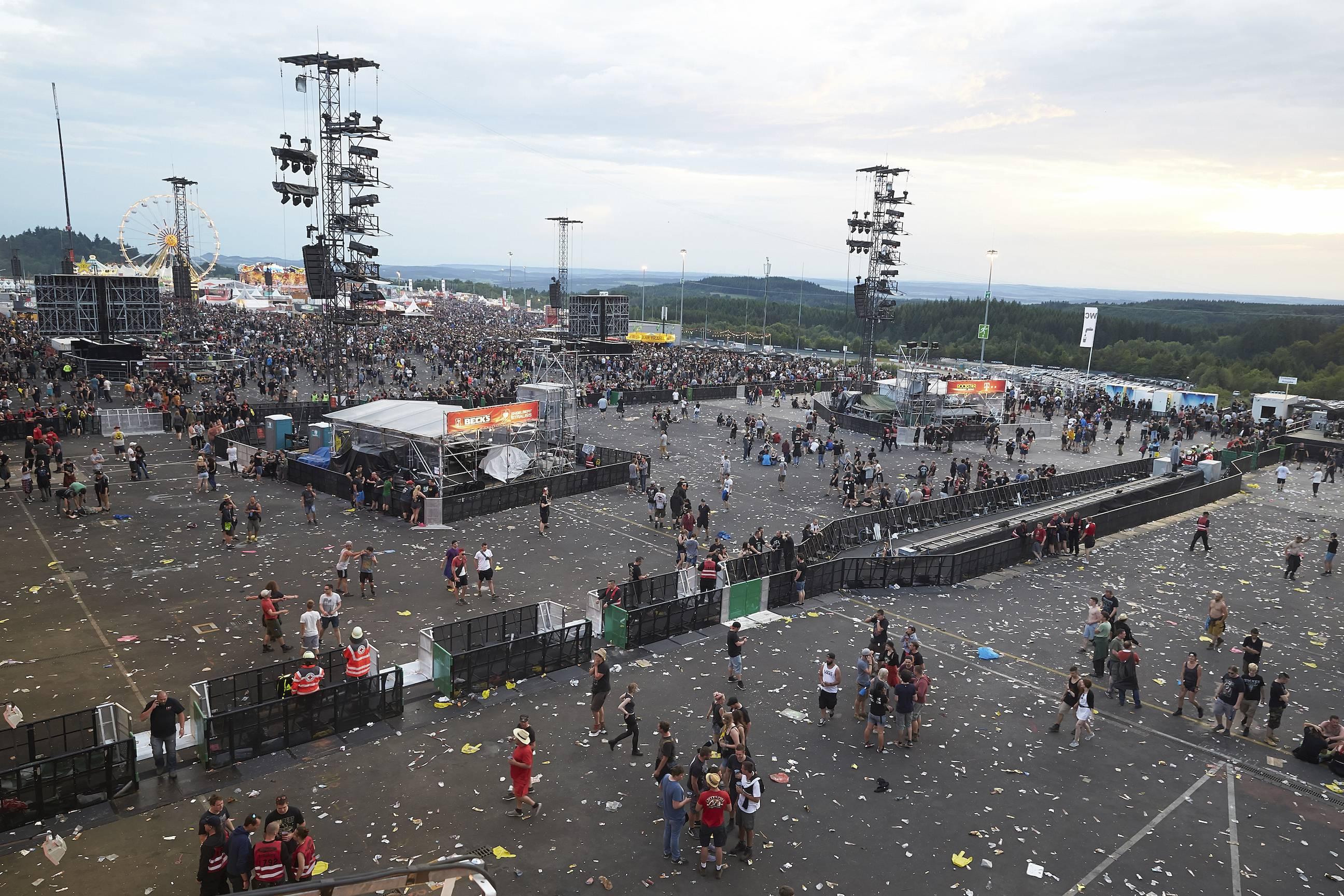 Cancelan concierto de rock tras amenaza terrorista en Alemania Foto: AP