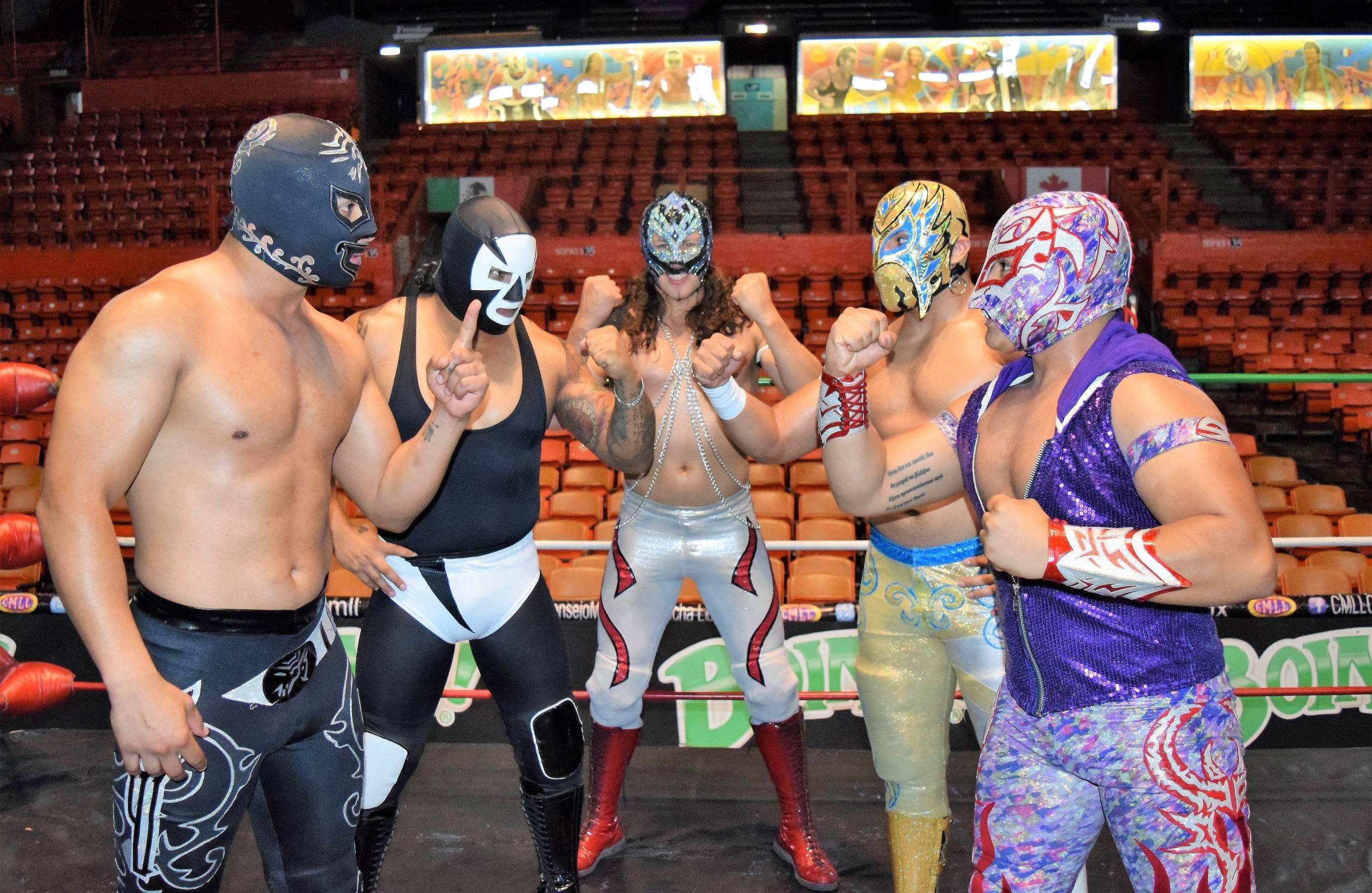 COSTRESÍA Los mejores jóvenes, en busca del estrellato del CMLL