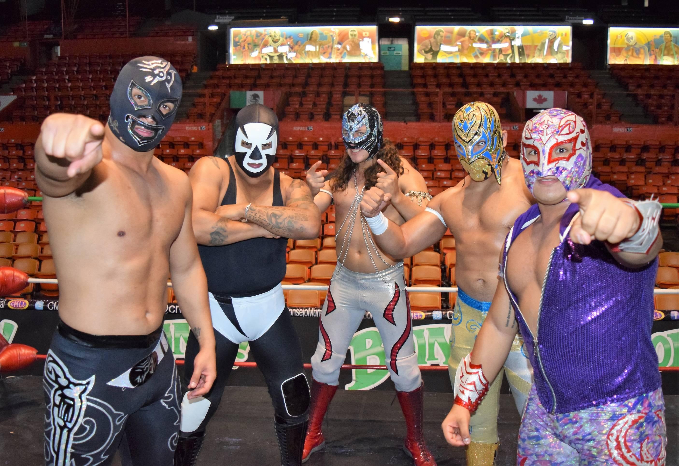 CORTESÍA Los mejores jóvenes, en busca del estrellato del CMLL