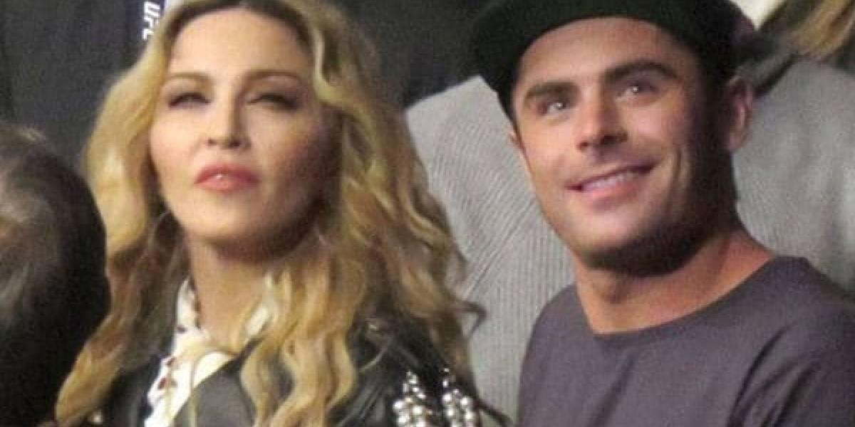 ¿Romance en puerta entre Madonna y Zac Efron?