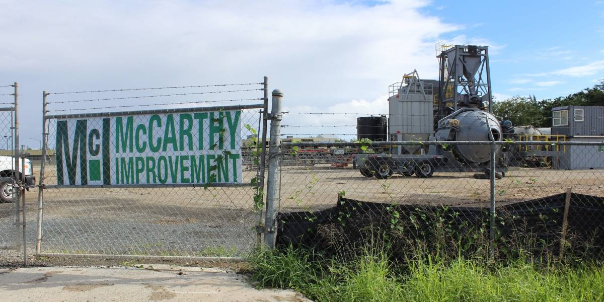 Sin permisos de construcción planta de concreto en terrenos del aeropuerto