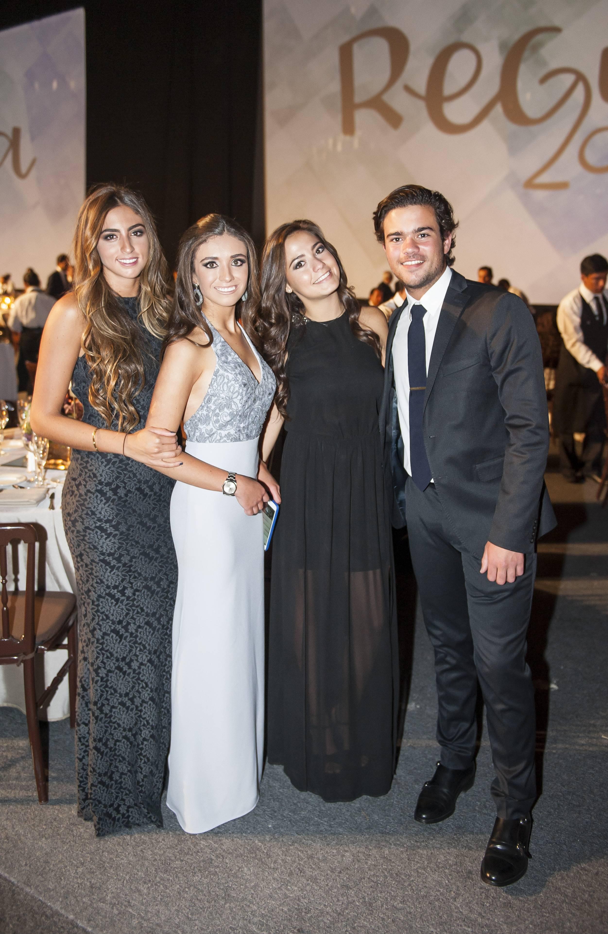 Fernanda Cantú, Ana Orvañanos, Camila García y Rodrigo García JDS