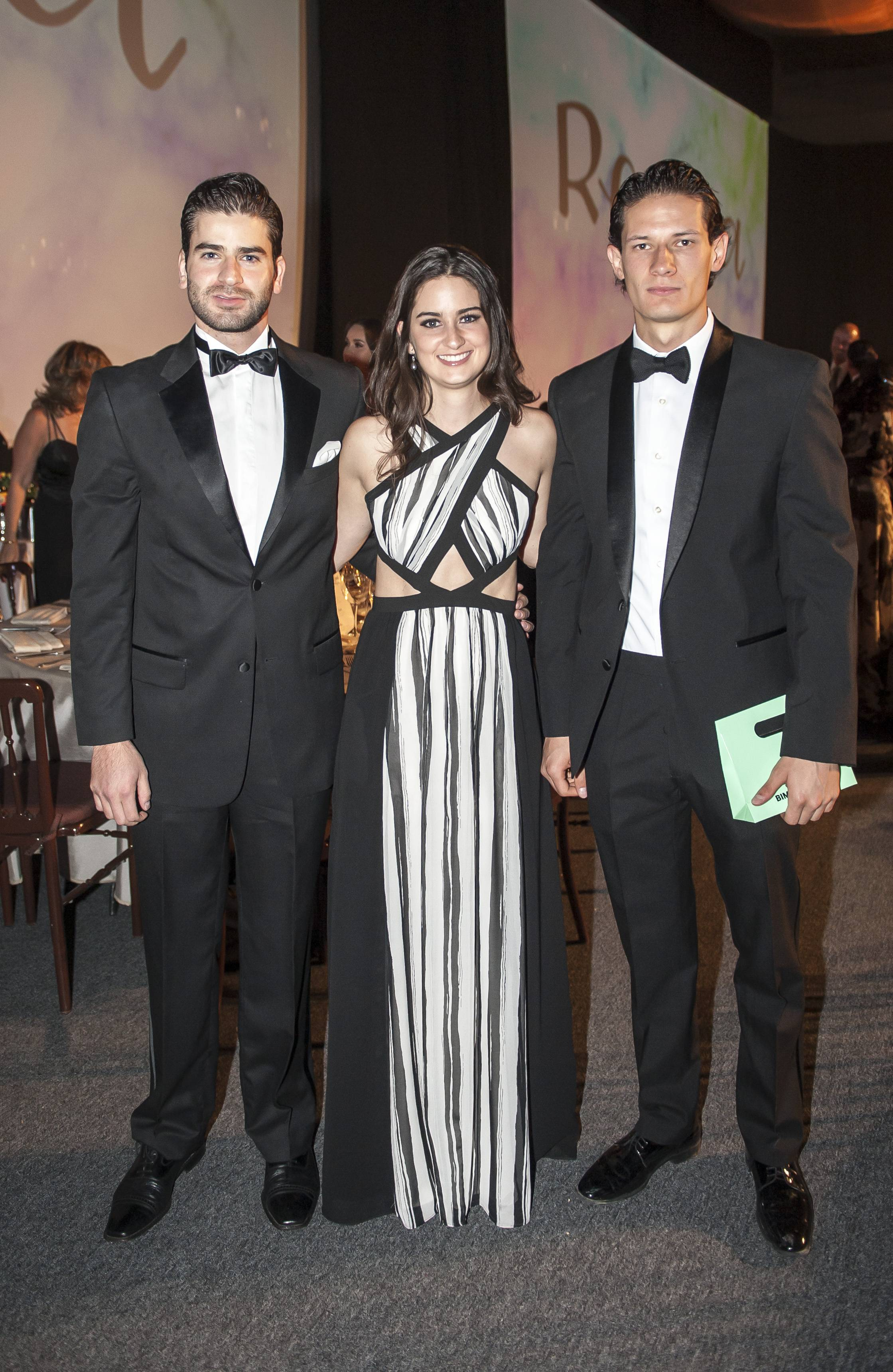 Alejandro y Regina Salazar con Daniel Rossbag JDS