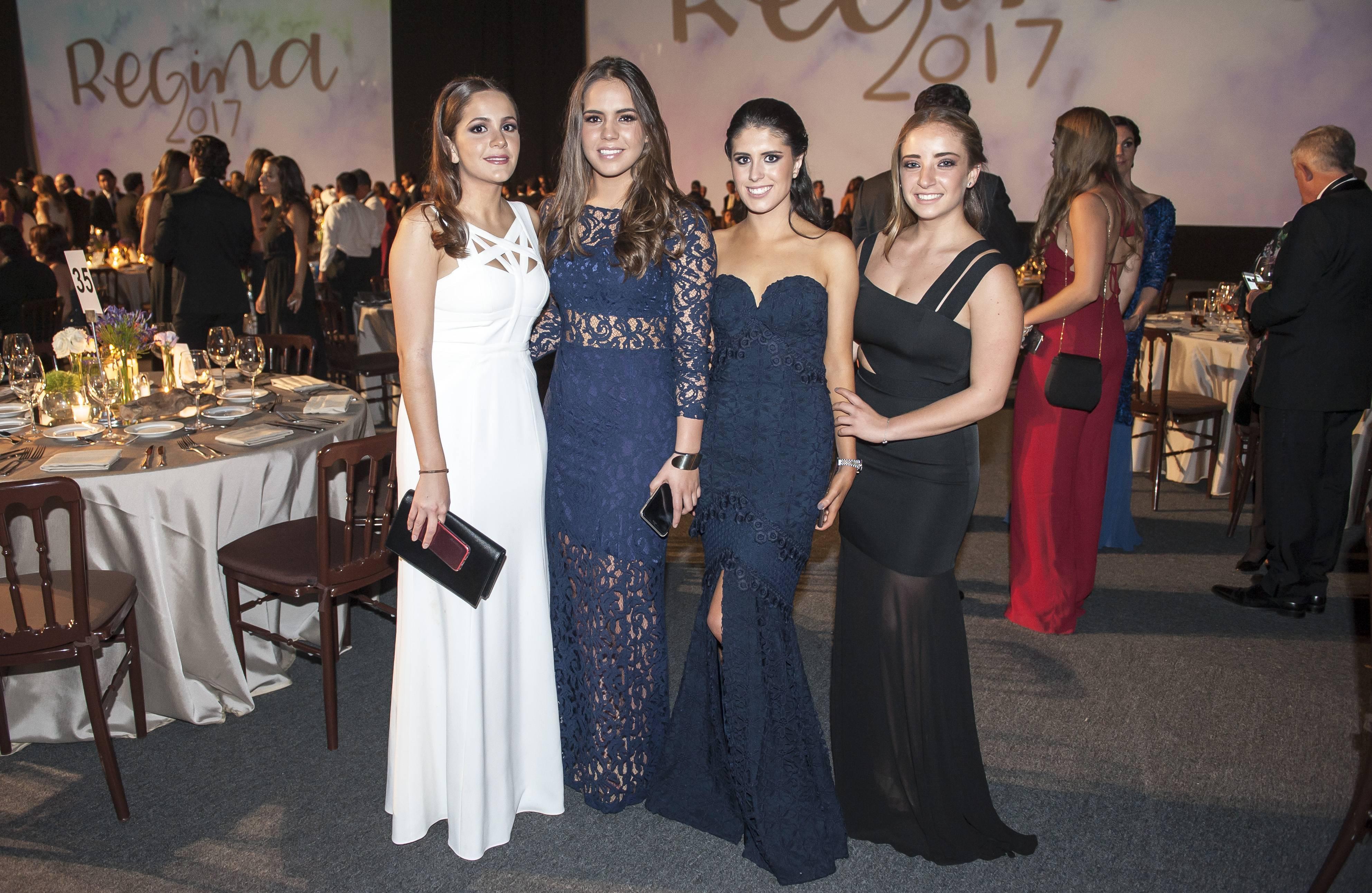 Ana Victoria Guevara, Regino Frestlo, Alina Morales y Paulina Villa JDS