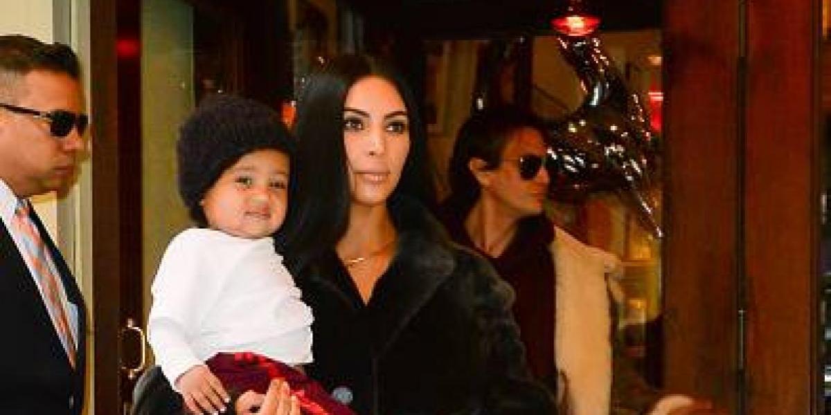 Kim Kardashian muestra lo mucho que ha crecido su segundo hijo