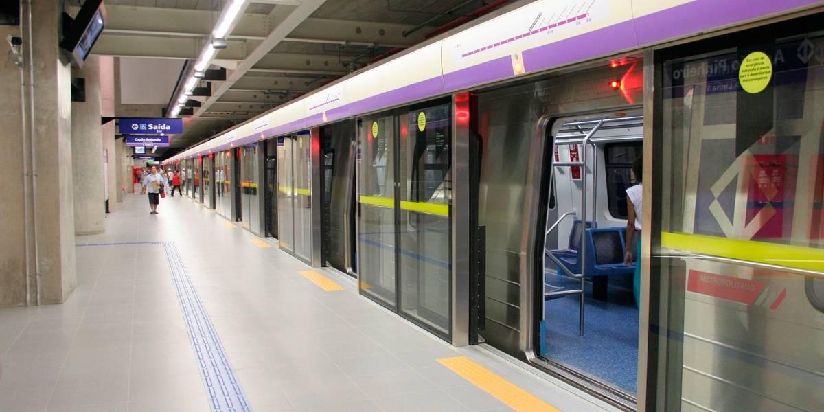 Metrô de São Paulo e CPTM funcionarão até mais tarde neste feriado