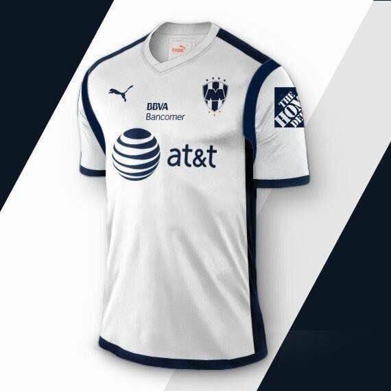 Filtran playera de Monterrey para la próxima temporada