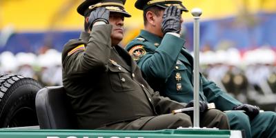 Se robaron la camioneta de general de la Policía en Bogotá