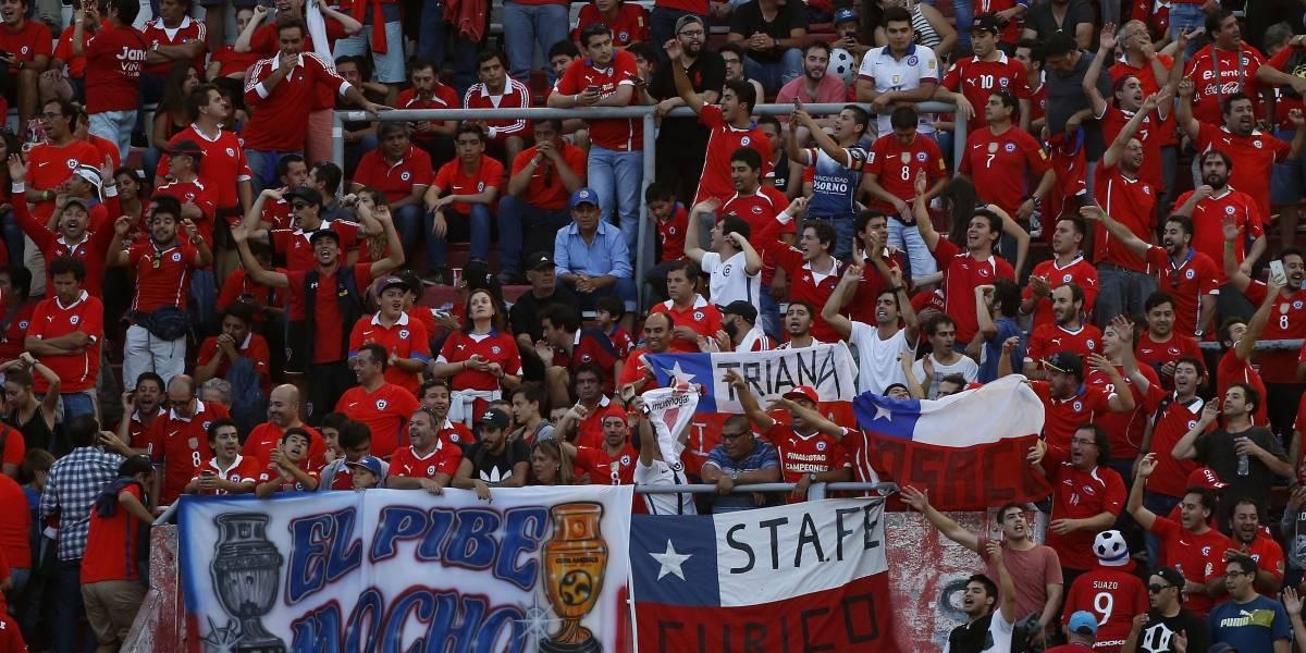 Hinchas de la Roja confían en que Chile conseguirá el título de la Confederaciones