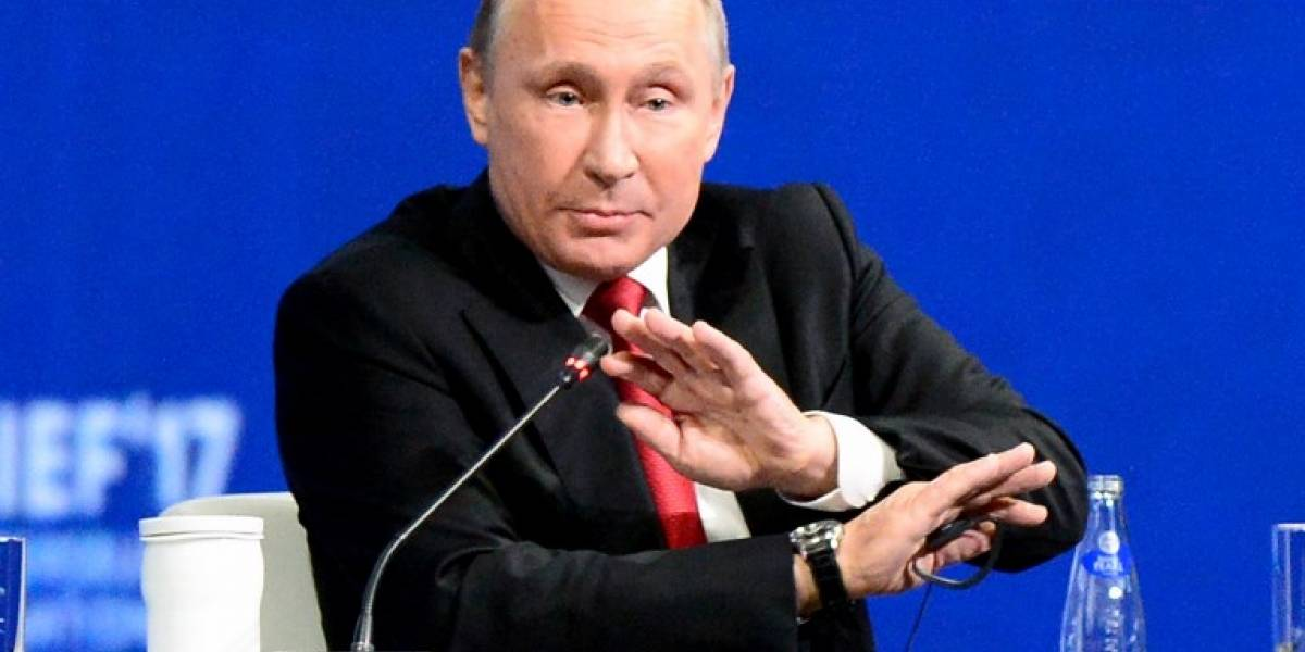 Putin pide que se de fin a las acusaciones de injerencia de Rusia en elecciones de EEUU