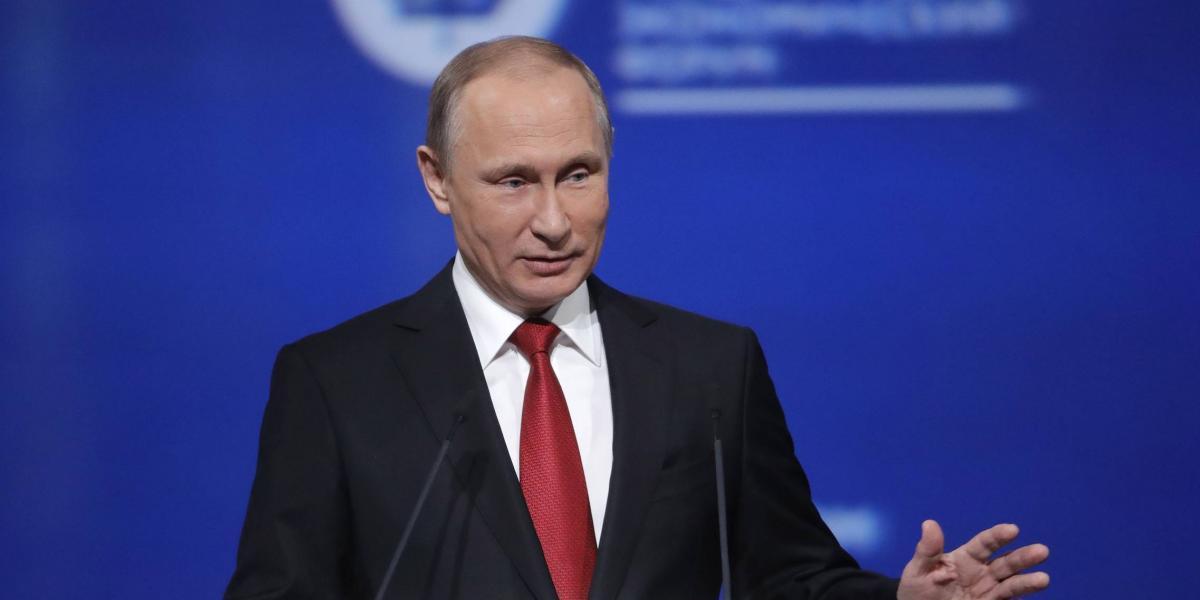Vladimir Putin: No soy una mujer, así que no tengo días malos