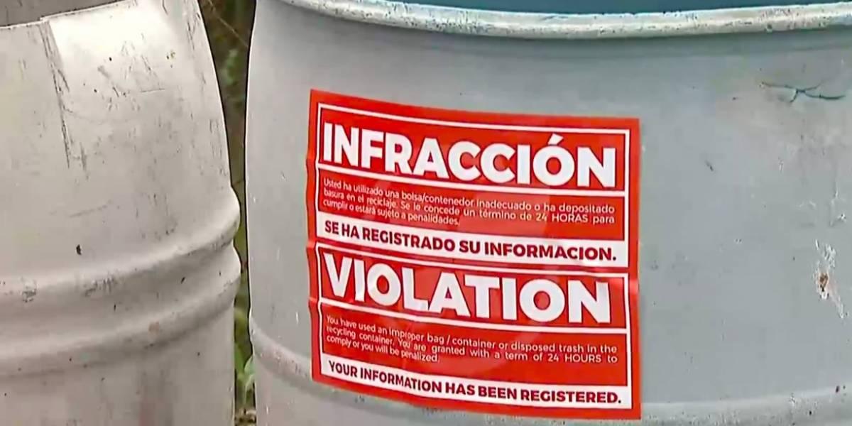 Furiosos los vecinos de Cabo Rojo por venta de bolsas de basura y multas