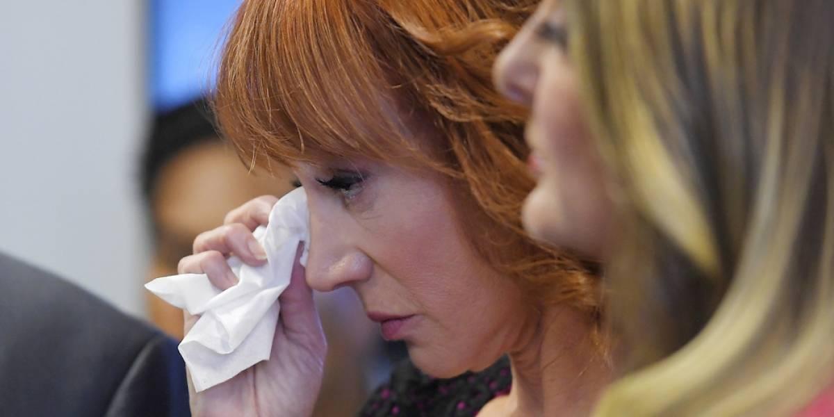 Comediante Kathy Griffin denuncia amenazas por parte de la familia Trump