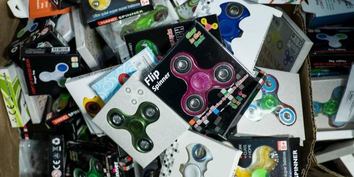 """¿Para qué sirven los """"fidget spinner""""? Chef de EEUU encontró particular uso para el juguete de moda"""