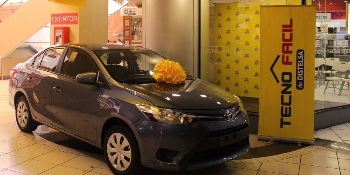 Empresa guatemalteca celebra su aniversario y sortea un Toyota Yaris Sedán 2017