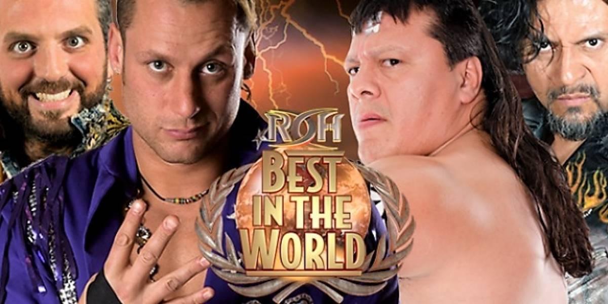 Último Guerrero y Terrible se preparan para representar a México en ROH