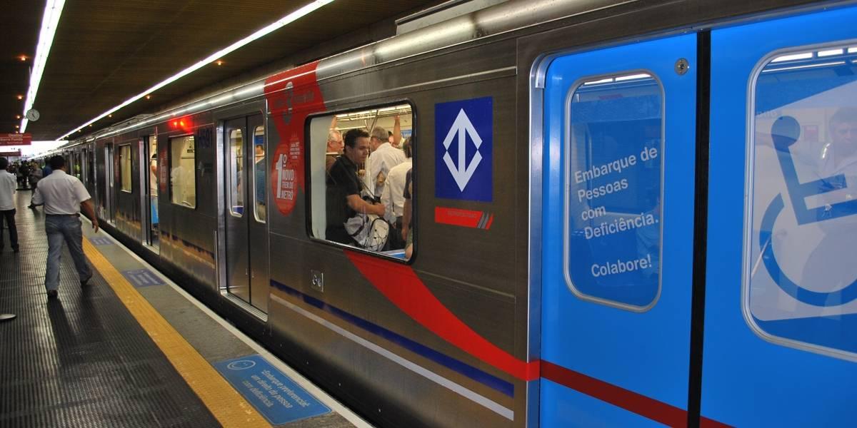 Metrô: trens da linha vermelha operam com velocidade reduzida
