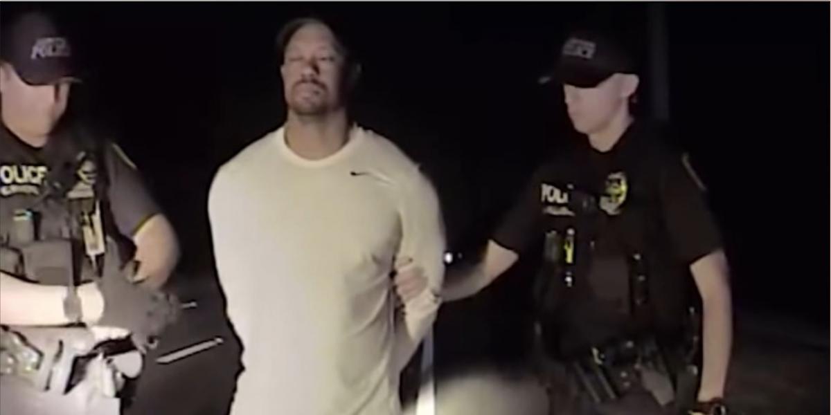 VIDEO. Viralizan arresto de Tiger Woods, no podía decir el abecedario