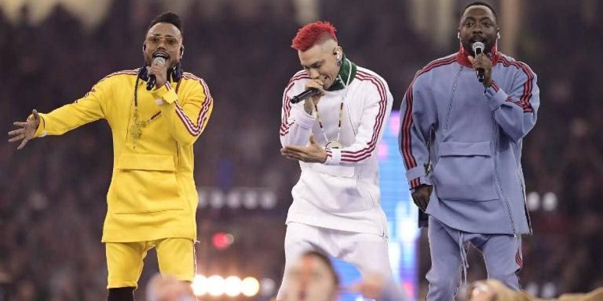 ¿Qué hace Black Eyed Peas en la final de la Champions, y más encima sin Fergie? Las burlas en las redes sociales