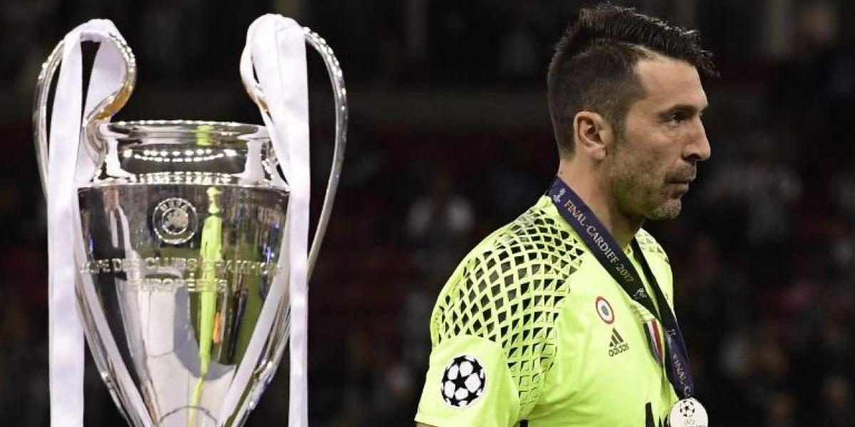 """El desconsuelo total de Buffon, que se queda sin título de Champions: """"Nos ganaron merecidamente"""""""