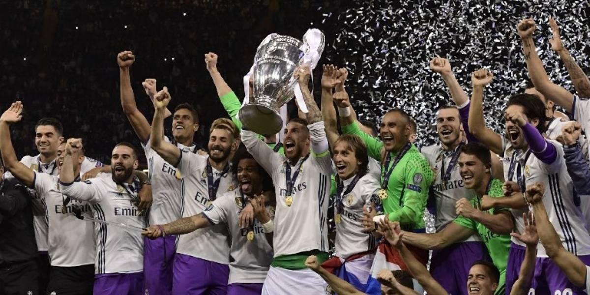 Sigue la racha: Real Madrid no pierde una final de Champions hace 36 años