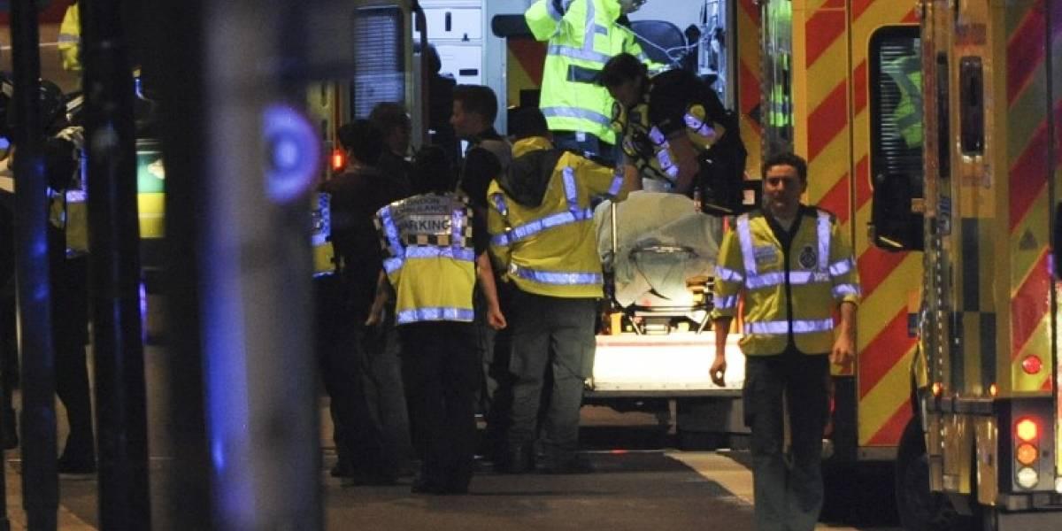 Ataques terroristas en Londres dejan 6 fallecidos, múltiples heridos y a 3 atacantes abatidos por la policía
